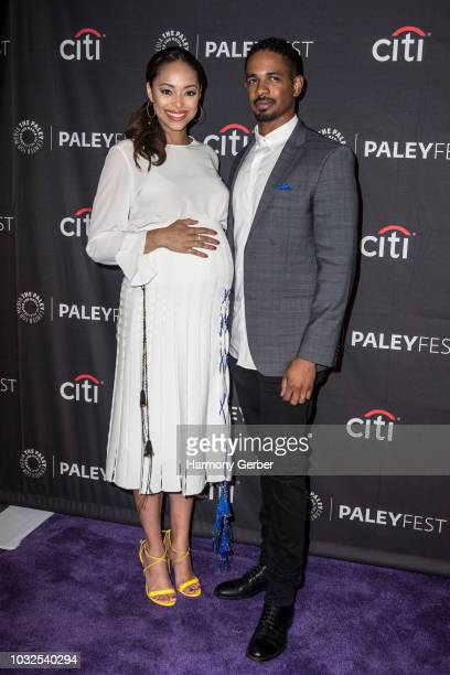 Amber Stevens West and Damon Wayans Jr arrive to the Paley Center For Media's 2018 PaleyFest Fall TV Previews at The Paley Center for Media on...
