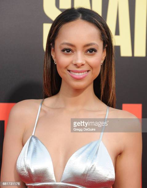 Amber Stevens West arrives at the premiere of 20th Century Fox's 'Snatched' at Regency Village Theatre on May 10 2017 in Westwood California