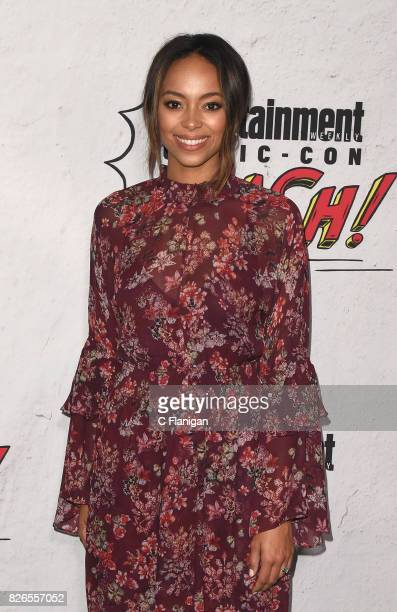 Amber Stevens West attends Entertainment Weekly's annual ComicCon party in celebration of ComicCon 2017 at Float at Hard Rock Hotel San Diego on July...