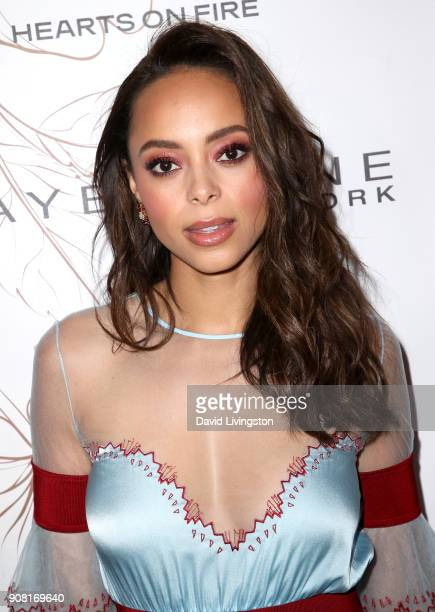 Amber Stevens West attends Entertainment Weekly's Screen Actors Guild Award Nominees Celebration sponsored by Maybelline New York at Chateau Marmont...