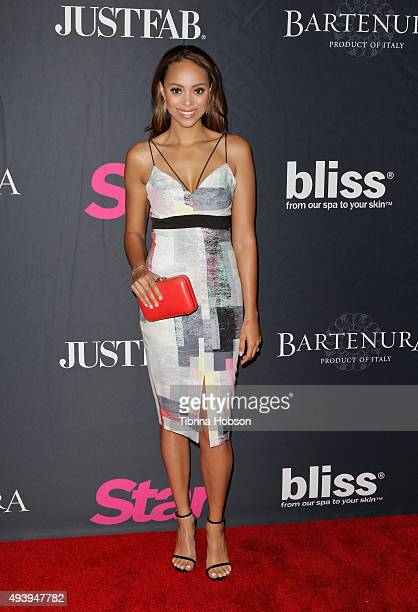 Amber Stevens West attends Star Magazine's Scene Stealers party at W Hollywood on October 22 2015 in Hollywood California