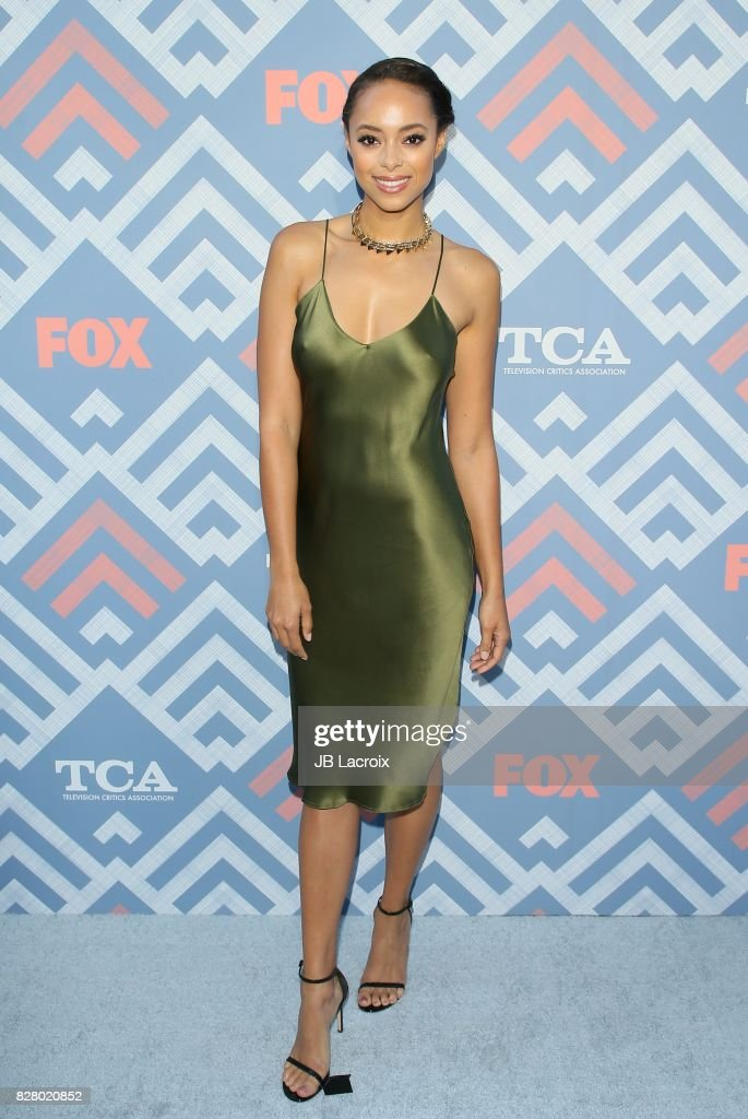 Amber Stevens West attends the 2017 Summer TCA Tour 'Fox' on August 08, 2017 in Los Angeles, California.