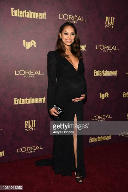 Amber Stevens West attends the 2018 PreEmmy Party hosted by Entertainment Weekly and L'Oreal Paris at Sunset Tower Hotel on September 15 2018 in West...