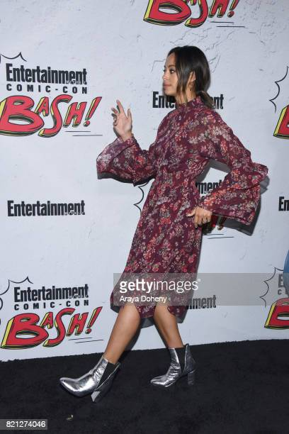Amber Stevens West attends the Entertainment Weekly's Annual ComicCon Party 2017 at Float at Hard Rock Hotel San Diego on July 22 2017 in San Diego...