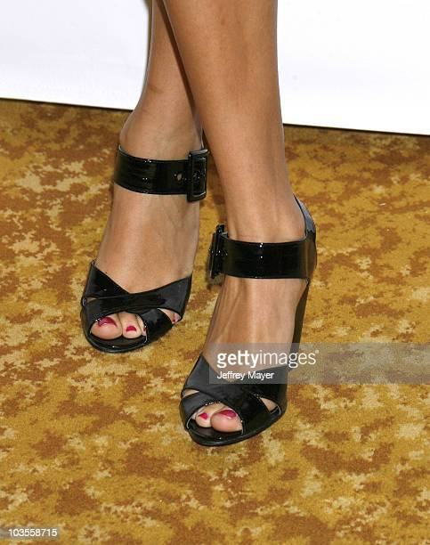 Amber Stevens's shoes at Step Up Womens Network 2008 Inspiration Awards Luncheon on May 9 2008 at the Beverly Wilshire Hotel in Beverly Hills...