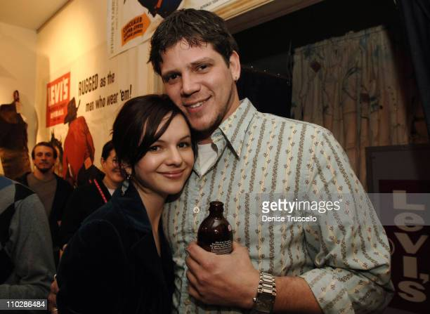 Amber Tamblyn and Dave Craig at 'Stephanie Daley' Premiere Party at Levi's Dry Goods