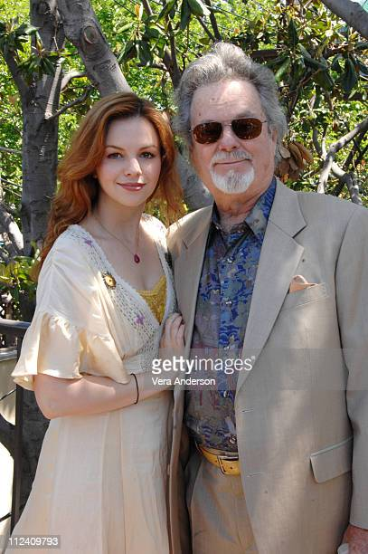 Amber Tamblyn and father Russ Tamblyn during 'Stephanie Daley' Press Conference with Amber Tamblyn and Russ Tamblyn in West Hollywood California...