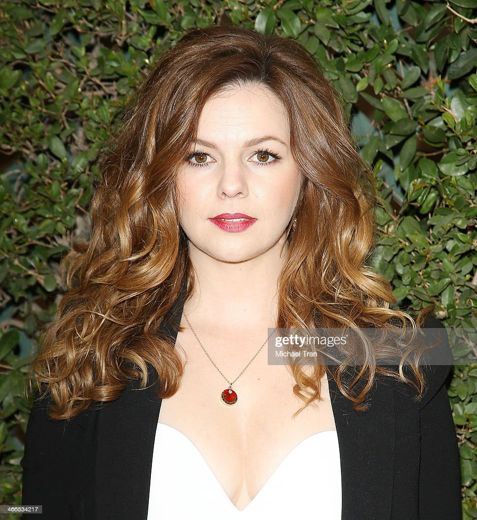 Amber Tamblyn arrives at the 2014 Writers Guild Awards L.A. Ceremony held at JW Marriott Los Angeles at L.A. LIVE on February 1, 2014 in Los Angeles, California.