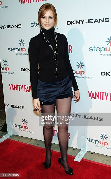 Amber Tamblyn at DKNY Jeans Presents Vanity Fair in Concert