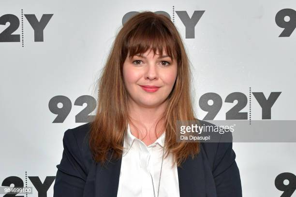 Amber Tamblyn attends Amber Tamblyn 'Any Man' Book Release Conversation with Jodi Kantor at 92nd Street Y on June 26 2018 in New York City