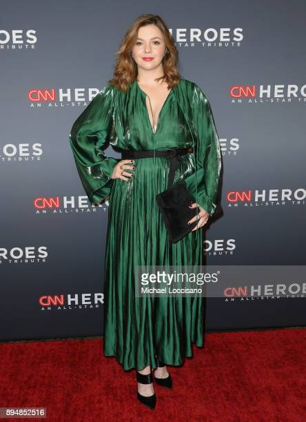 Amber Tamblyn attends CNN Heroes 2017 at the American Museum of Natural History on December 17, 2017 in New York City. 27437_017