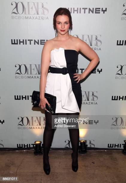 Amber Tamblyn attends the 2009 Whitney Contemporaries Art Party and auction at Skylight on June 17, 2009 in New York City.