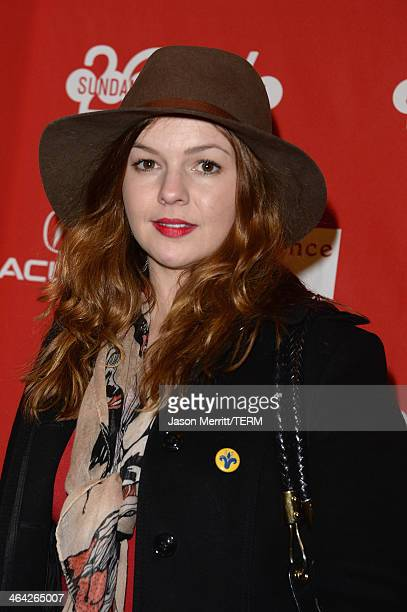 Amber Tamblyn attends the premiere of the Hits at Eccles Center Theatre during the 2014 Sundance Film Festival on January 21 2014 in Park City Utah