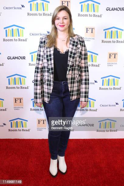 Amber Tamblyn attends the Room To Read 2019 New York Gala on May 16, 2019 in New York City.