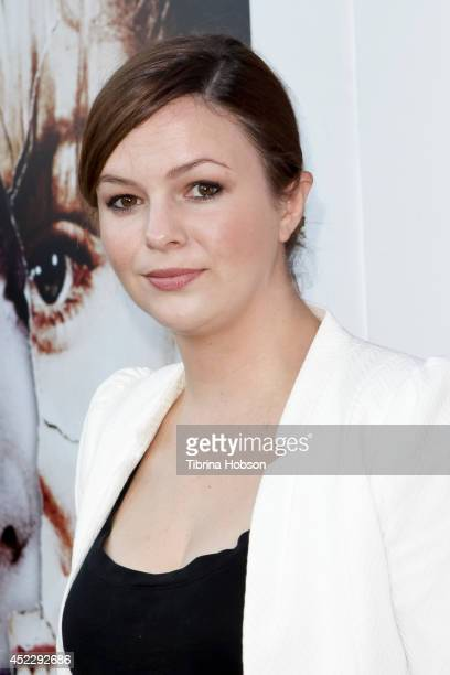 Amber Tamblyn attends the 'Twin Peaks' BluRay/DVD release party and screening at the Vista Theatre on July 16 2014 in Los Angeles California