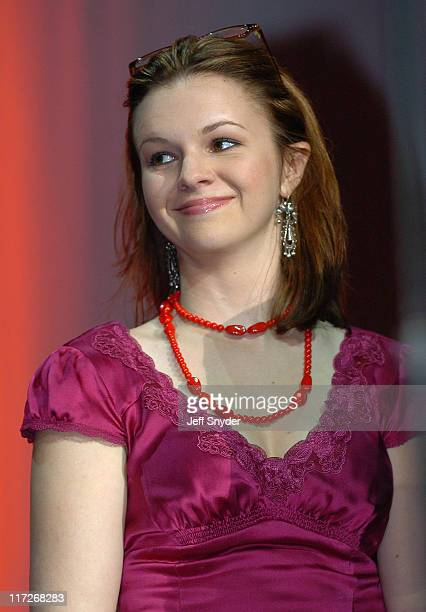 Amber Tamblyn during 12th Annual Rock the Vote Awards Dinner at National Building Museum in Washington DC DC United States