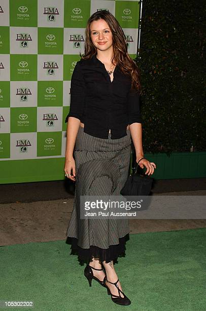 Amber Tamblyn during 13th Annual Environmental Media Awards at The Ebell Theatre in Los Angeles California United States