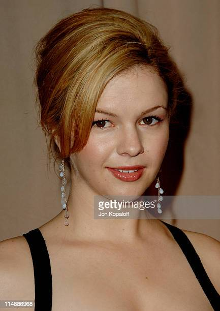Amber Tamblyn during 6th Annual Awards Season Diamond Fashion Show Preview Hosted by Diamond Information Center and In Style at Beverly Hills Hotel...