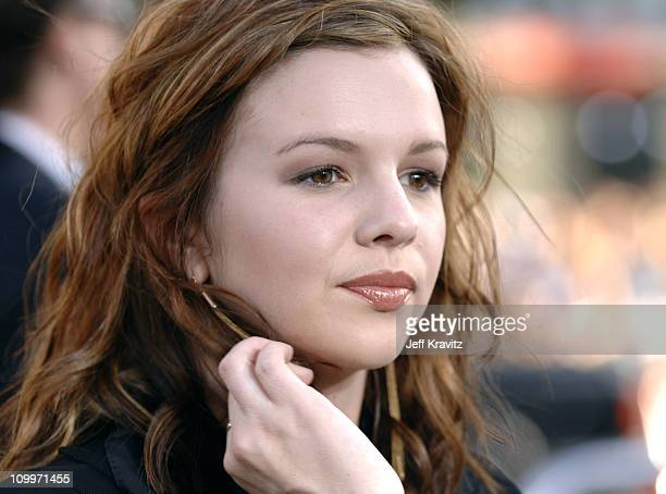 Amber Tamblyn during Batman Begins Los Angeles Premiere Arrivals at Grauman's Chinese Theater in Hollywood California United States