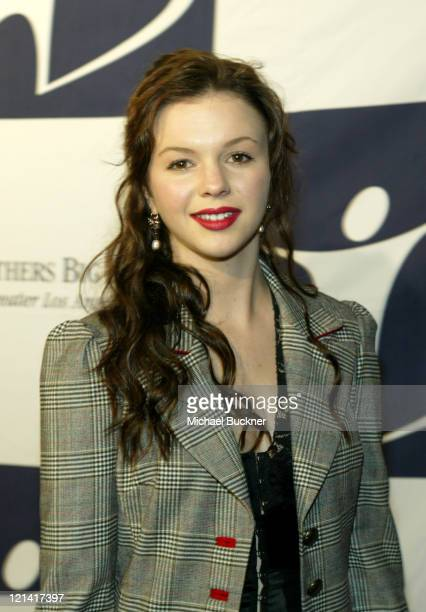 Amber Tamblyn during Big Brothers Big Sisters of Greater Los Angeles Rising Stars 2004 Gala at The Beverly Hilton in Beverly Hills California United...