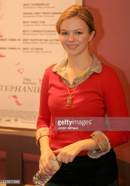 Amber Tamblyn during Film Independent Screening of 'Stephanie Daley' at Laemmle Sunset 5 Theater in Los Angeles California United States
