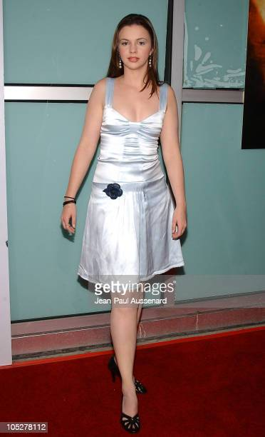 Amber Tamblyn during 'Kill Bill Vol 2' World Premiere Arrivals at ArcLight Cinerama Dome in Hollywood California United States