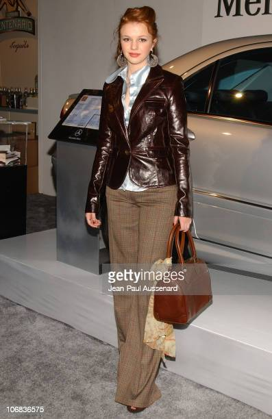 Amber Tamblyn during MercedesBenz Spring 2006 LA Fashion Week at Smashbox Studios Day 1 Arrivals at SmashBox Studios in Culver City California United...