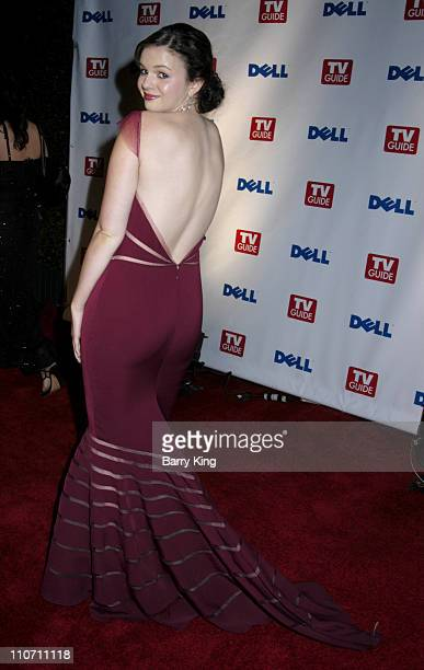 Amber Tamblyn during The 56th Annual Primetime Emmy Awards TV Guide After Party at TV Guide Central in West Hollywood California United States