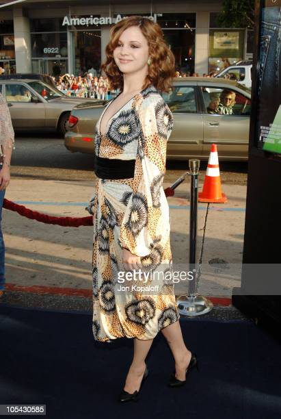 "Amber Tamblyn during ""The Sisterhood of the Traveling Pants"" Los Angeles Premiere at Grauman's Chinese Theatre in Hollywood, California, United..."
