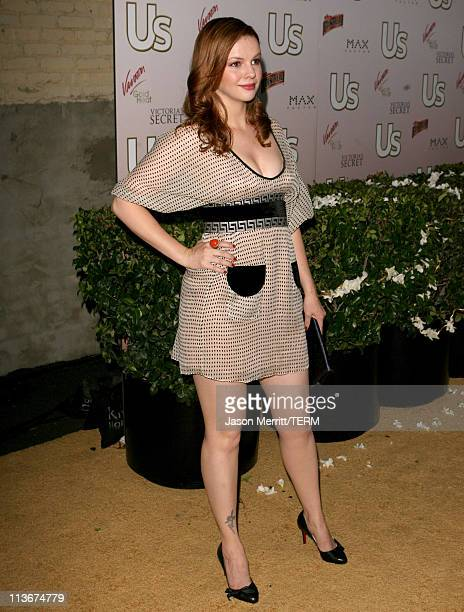 Amber Tamblyn during Us Weekly Presents Us' Hot Hollywood 2007 Red Carpet at Sugar in Hollywood California United States