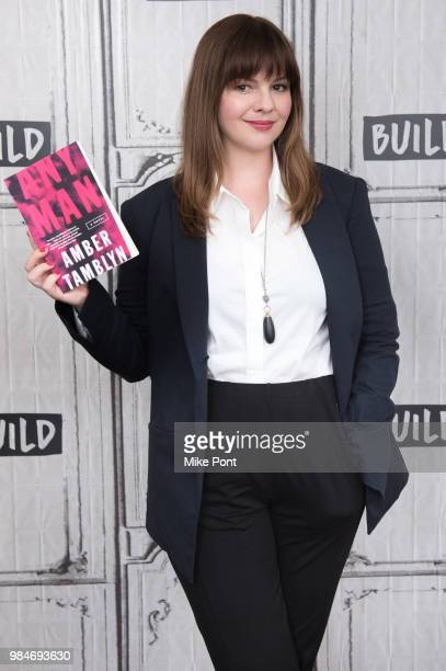 Amber Tamblyn visits Build Series to discuss 'Any Men' at Build Studio on June 26, 2018 in New York City.