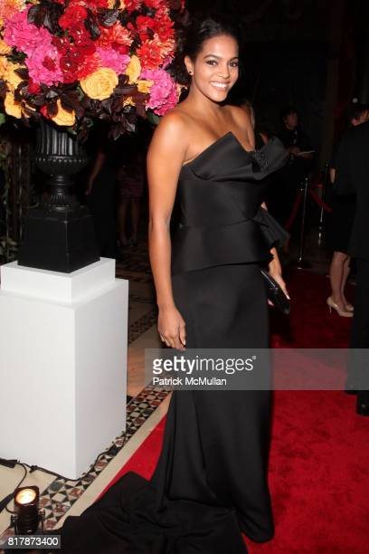 Amber Tolliver attends 2010 New Yorkers For Children Fall Gala presented by CIRCA at Cipriani 42nd on September 21 2010 in New York City