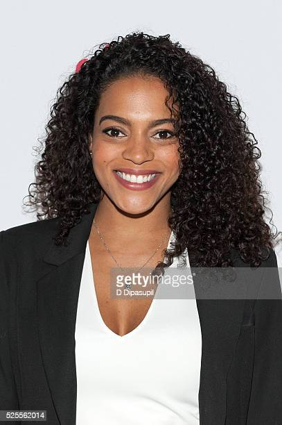 Amber Tolliver attends the 2016 Girls Inc Spring Luncheon at The Metropolitan Club on April 28 2016 in New York City