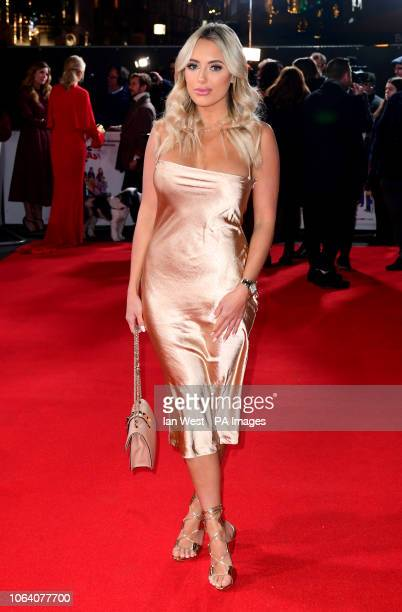 Amber Turner attending the Surviving Christmas with the Relatives World Premiere at the Vue West End Leicester Square London