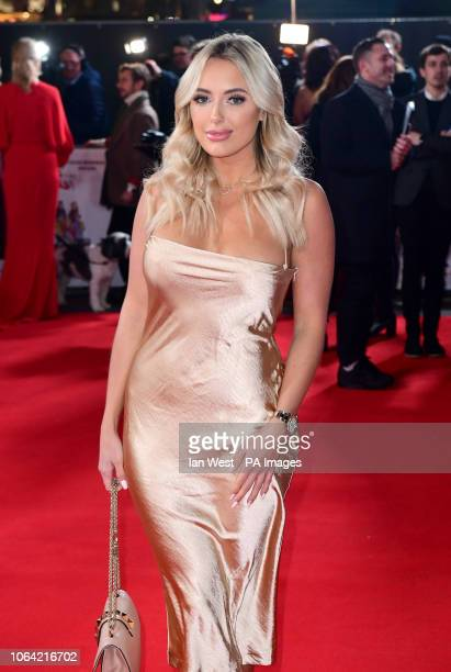 Amber Turner attending the Surviving Christmas with the Relatives World Premiere at the Vue West End Leicester Square London PRESS ASSOCIATION Photo...