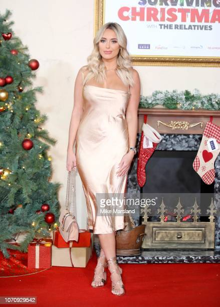 Amber Turner attends the World Premiere of 'Surviving Christmas With The Relatives' at Vue West End on November 21 2018 in London England