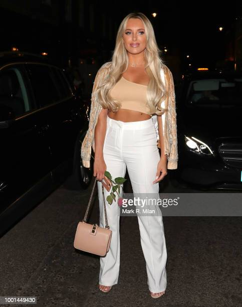 Amber Turner seen leaving MNKY House on July 18 2018 in London England