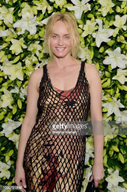 Amber Valetta attends 2019 WSJ Magazine Talents and Legends Dinner Honoring Lucas Hedges at Mr Chow on January 28 2019 in Beverly Hills California