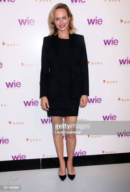 Amber Valetta attends day 2 of the 4th Annual WIE Symposium at Center 548 on September 21 2013 in New York City