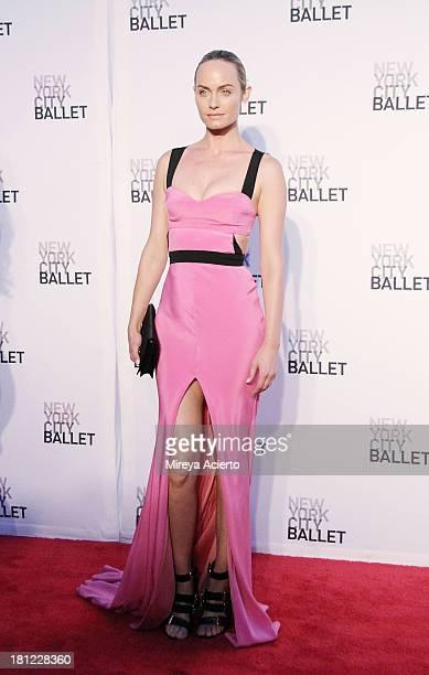 Amber Valetta attends New York City Ballet 2013 Fall Gala at David H Koch Theater Lincoln Center on September 19 2013 in New York City