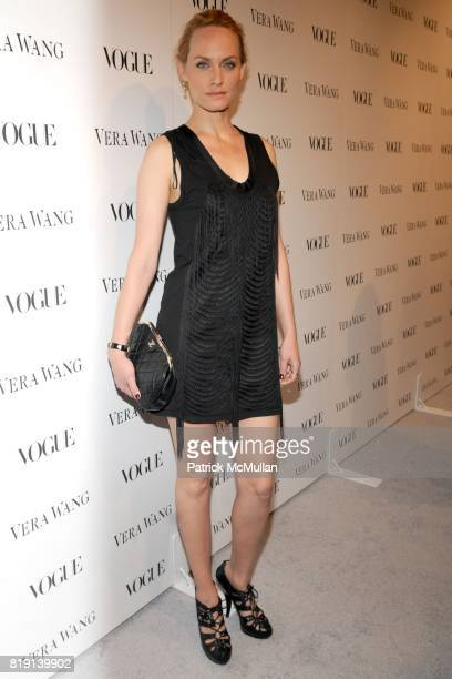 Amber Valetta attends VOGUE Dinner Honoring VERA WANG In Celebration of VERA WANG on Melrose Opening at Vera Wang on March 2 2010 in West Hollywood...