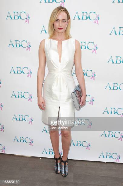 Amber Valletta arrives at ABC's Mother's Day luncheon at Four Seasons hotel Los Angeles at Beverly Hills on May 8 2013 in Beverly Hills California