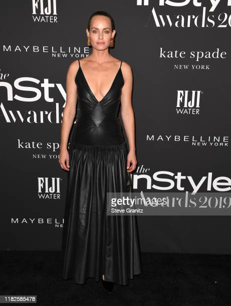 Amber Valletta arrives at the 2019 InStyle Awards at The Getty Center on October 21 2019 in Los Angeles California