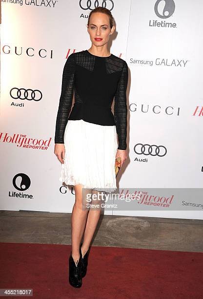 Amber Valletta arrives at the The Hollywood Reporter's Women In Entertainment Breakfast Honoring Oprah Winfrey at Beverly Hills Hotel on December 11...