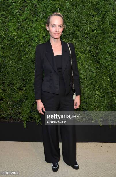 Amber Valletta at CHANEL Dinner Celebrating Lucia Pica The Travel Diary Makeup Collection on July 12 2017 in Los Angeles California