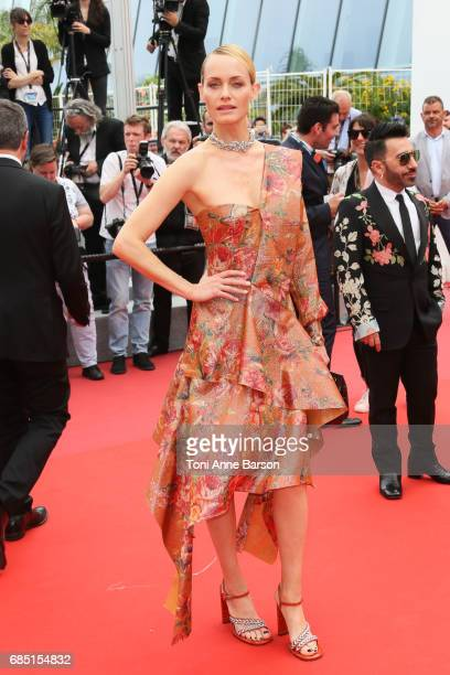 Amber Valletta attend the Wonderstruck screening during the 70th annual Cannes Film Festival at Palais des Festivals on May 18 2017 in Cannes France