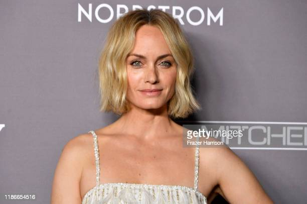 Amber Valletta attends 2019 Baby2Baby Gala Presented By Paul Mitchell at 3LABS on November 09 2019 in Culver City California