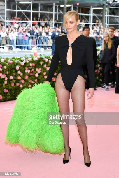 Amber Valletta attends The 2019 Met Gala Celebrating Camp Notes on Fashion at Metropolitan Museum of Art on May 06 2019 in New York City