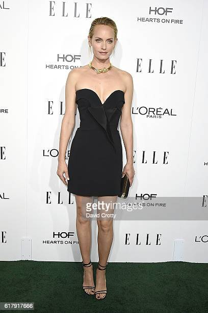 Amber Valletta attends the 23rd Annual ELLE Women In Hollywood Awards Arrivals at The Four Seasons Hotel on October 24 2016 in Beverly Hills...
