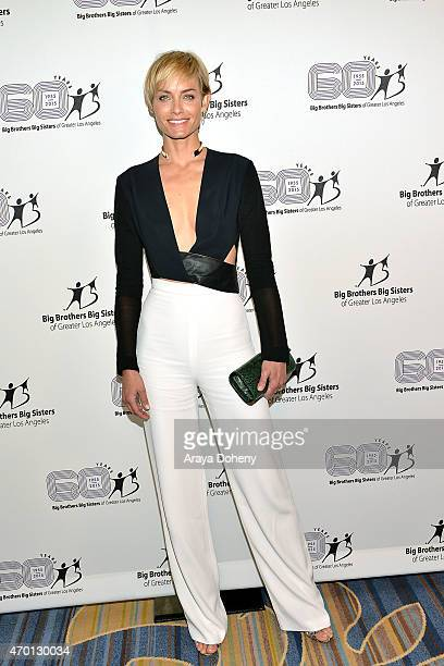 Amber Valletta attends the Big Brothers Big Sisters of Greater Los Angeles Annual Accessories for Success Luncheon Fashion Show at Regent Beverly...